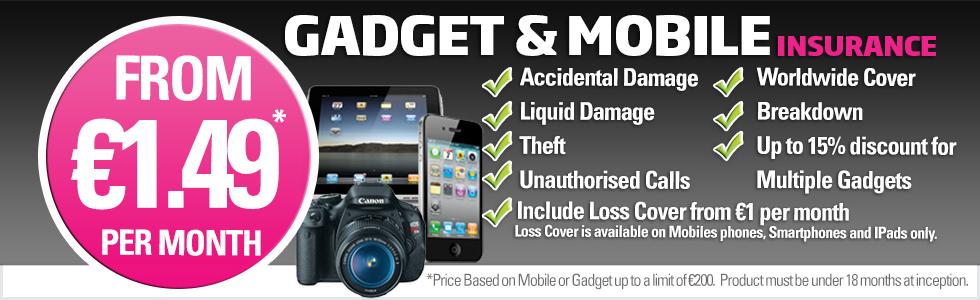 Gadget & Mobile Insurance